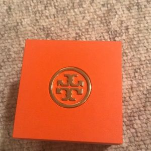 Tory Burch Accessories - TB VEUC - worn once gold and dark navy face watch